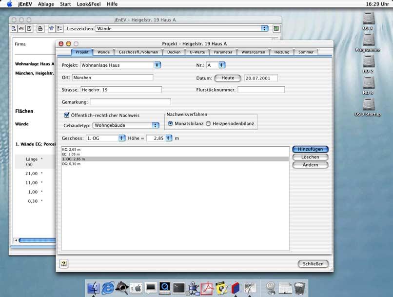 energieeinsparverordnung 2014 software zur enev f r windows mac linux. Black Bedroom Furniture Sets. Home Design Ideas